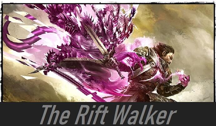 The Rift Walker